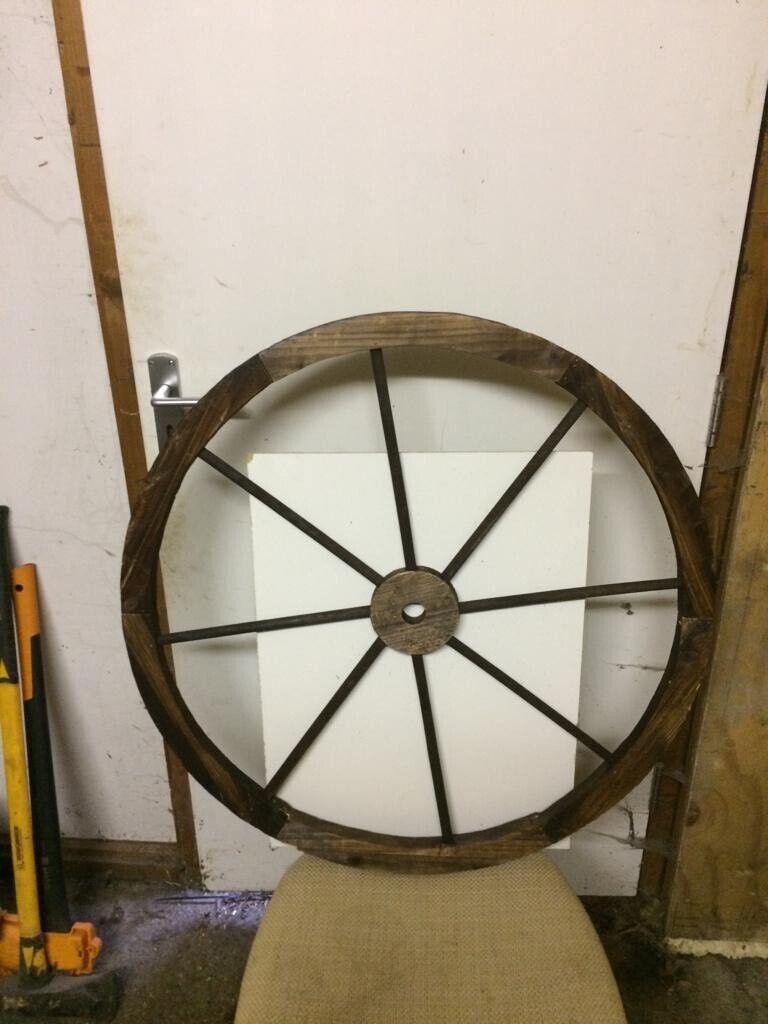 Wooden Wagon Wheel Used For Wedding In Norwich Norfolk Gumtree