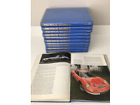 Collectable full set of 1970's 'On Four Wheels' Magazines in 11 fully bound volumes