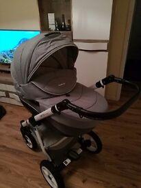 RIKO NANO push chair carrycot buggy