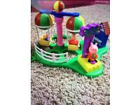 Peppa pig fairground toy