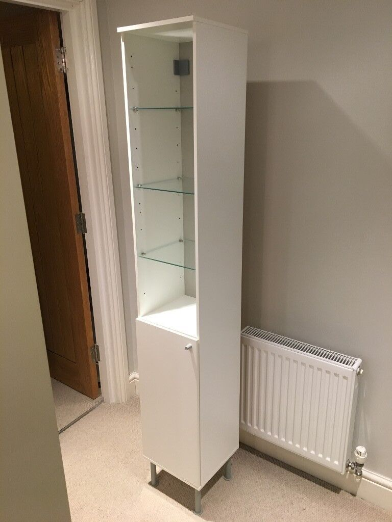 Marvelous Bathroom Storage Ikea Fullen High Cabinet White 30X182 Cm In Oxford Oxfordshire Gumtree Best Image Libraries Barepthycampuscom