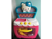 hello kitty working cooker