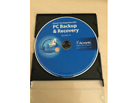 ACRONIS TRUE IMAGE PC BACKUP & RECOVERY SOFTWARE