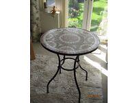 patio/bistro table