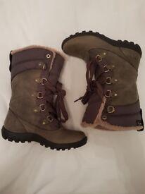 Genuine timberland mount hope ladies boots