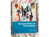 Perspectives on personality psychology book!