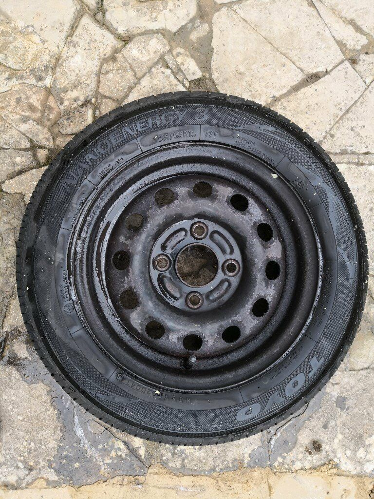 Ford Ka Steel Wheel And Tyre
