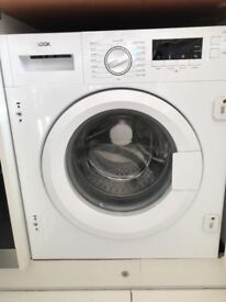 Intergrated washing machine for sale not working just over year old QUICK SALE £50