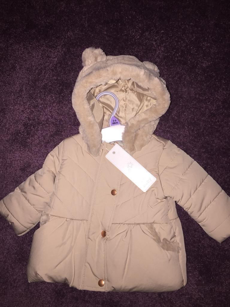 dbb4fbed927b BNWT baby girl 3-6 month coat