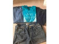 Men's unworn clothes bundle size large