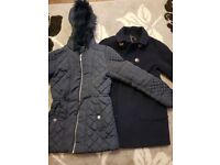 Two winter coats for sale