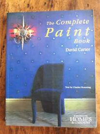 THE COMPLETE PAINT BOOK by David Carter £3