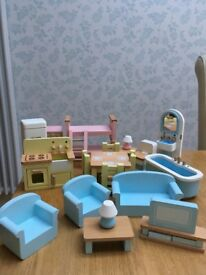 John Lewis dolls house furniture
