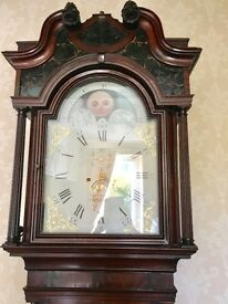 Stunning Antique Grandfather Clock