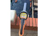 Electric hedge trimmer - used