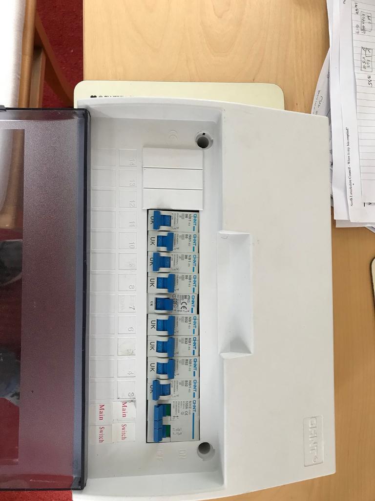 Consumer Unit Fuse Box Used In Kilsyth Glasgow Gumtree