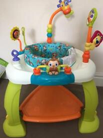 Baby bouncer activity centre