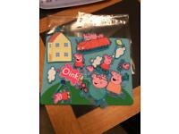 Peppa pig play board