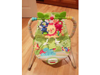 Fisher-Price Rainforest Friends Baby Bouncer, BOXED, AS NEW, £30 ono