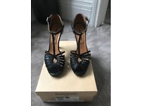 Russell and Bromley T Bar Sandals size 6.5