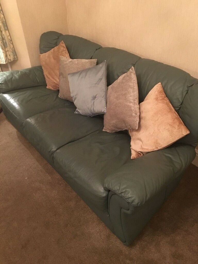 3 seater sofa 2 chairs and footstool