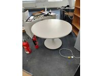 White Round Table - Perfect for your Living Room or Office spce
