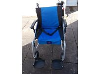 Wheelchair with Battery assistance