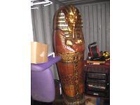 life size egyption sarcophagus