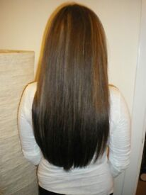 REMY HAIR EXTENSIONS £150 MICRO RINGS OR FUSION IN LONDON to LUTON