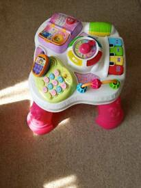 Vtech activity table