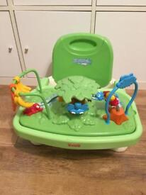 Children's table booster seat