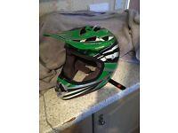 Motor cross mx helmet medium