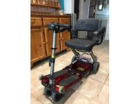 Luggie Free Rider Travel Scooter £1600 or Best Offer