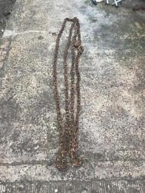 Sold steel chain