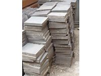 "Victorian black/charcoal quarry tiles 6"" x 6"""