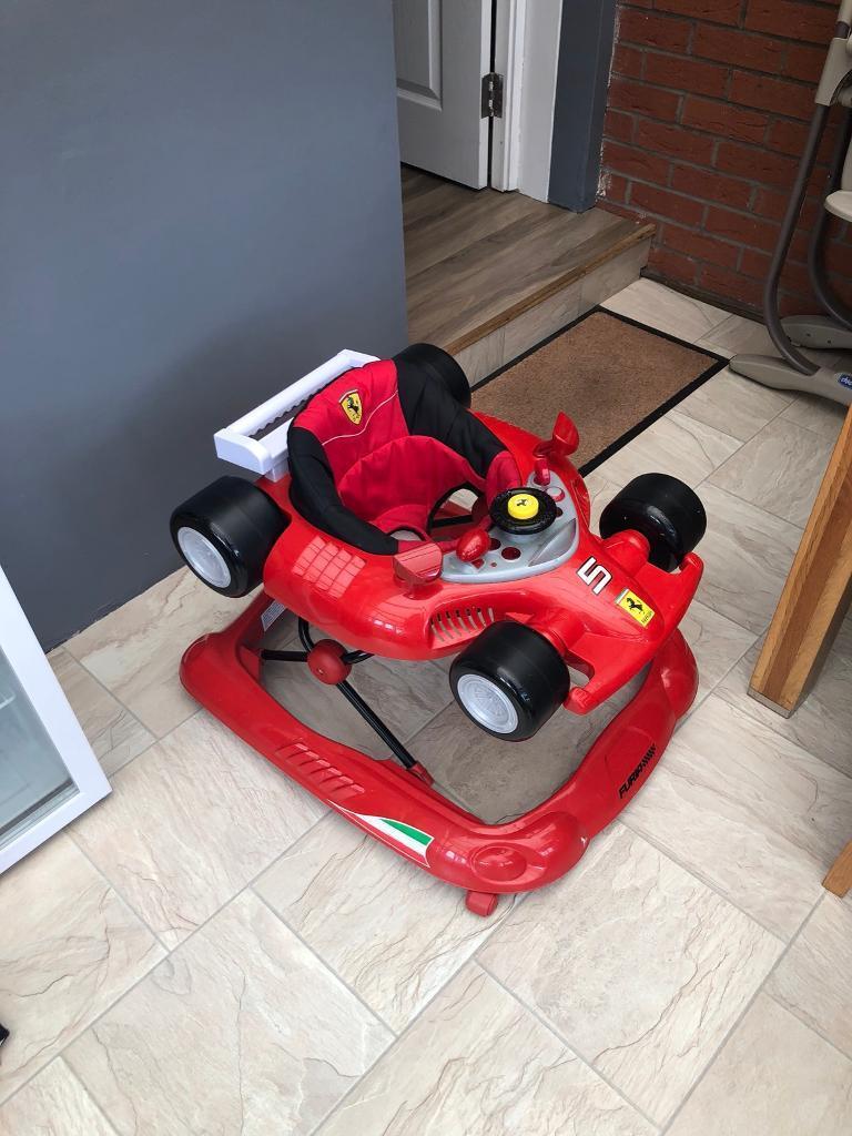 Red Ferrari Baby Walker In Harthill North Lanarkshire Gumtree
