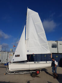 Topper SPort 16 sailing dinghy with combo trailer