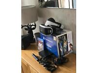 PlayStation 4 VR +PlayStation camera + gran Turismo