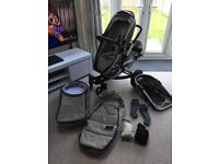 Joolz duo Pushchair & Carrycot Package - Graphite