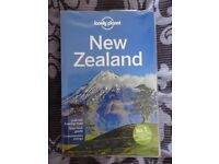 New Zeland Lonely Planet guide book