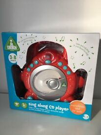 New ELC sing along CD player