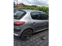 Peugeot 206, 2001. MOT until Feb 2019. New tyres. New brake pads. Perfect runner. No faults.