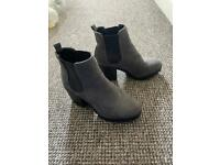 New Look women's grey boots size 5