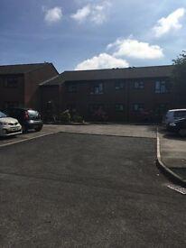 1 bed ground floor flat for rent in purpose built retirement building. Off street parking.