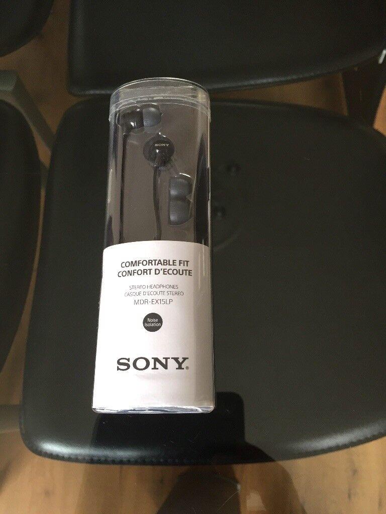 Sony MDR earbud headphones