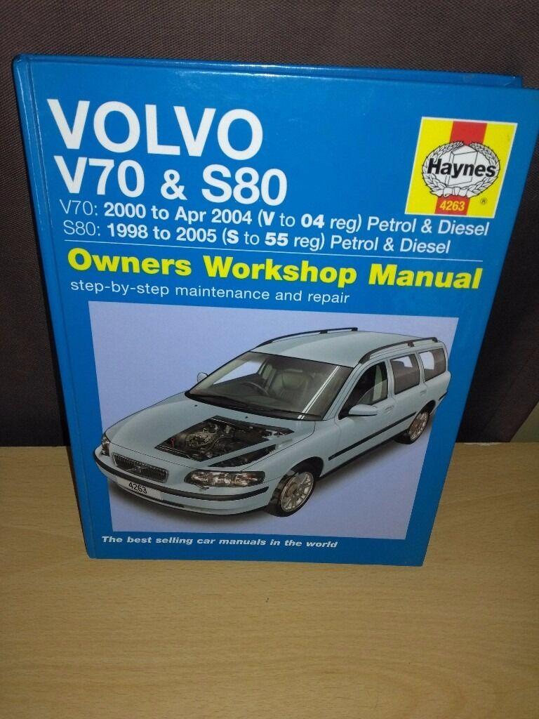Haynes Repair Manual Volvo V70 S80