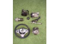 BMW 320D 2006 parts alternator steering wheel gearstick Air con pump n more...