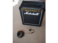 MARSHALL LEAD 12 GUITAR AMPLIFIER Model 5005 12 W RMS - NEW POTS - VGC