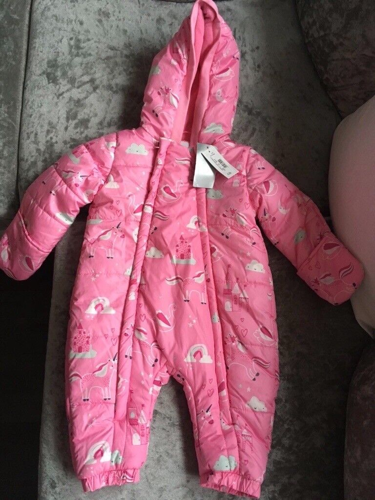 6e531c014 Unicorn snowsuit new with tags 9-12 months | in Poole, Dorset | Gumtree