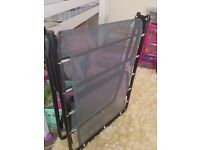 VGC JAYBE GUEST FOLD UP BED WITH MATTRESS